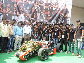 Sporty Vehicle designed by BRHCET Students